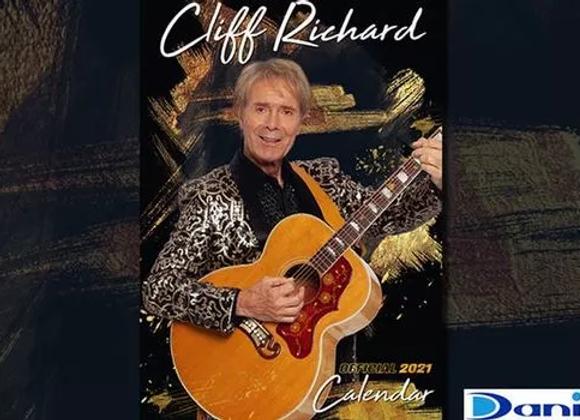 Free 2021 Sir Cliff Richard Calendar