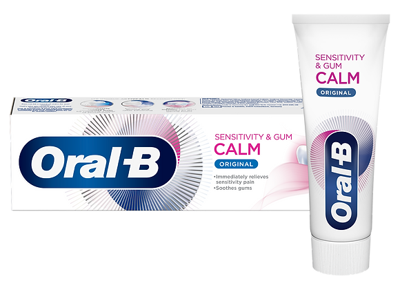 Free Oral-B Calm Toothpaste