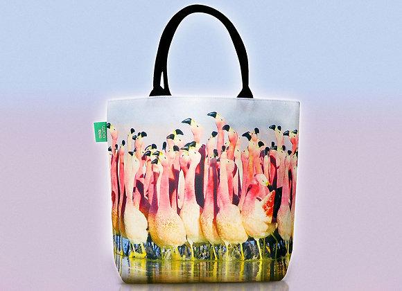Free Flamingo Tote Bag