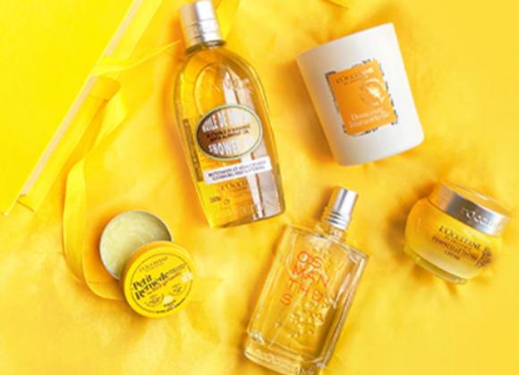 Free L'Occitane Yellow Beauty Box