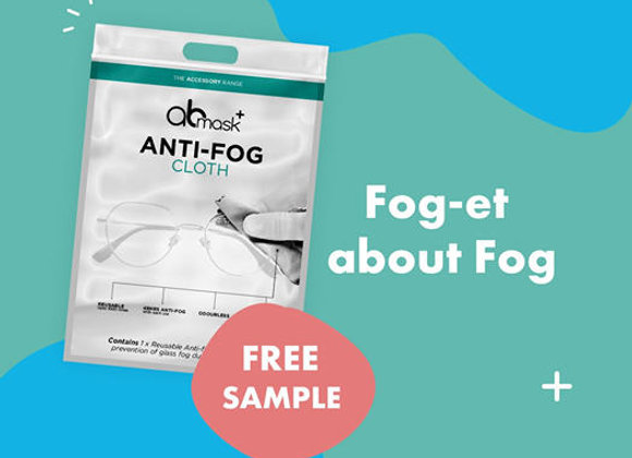 Free Anti-Fog Cloth