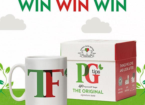 Free PG tips Mug