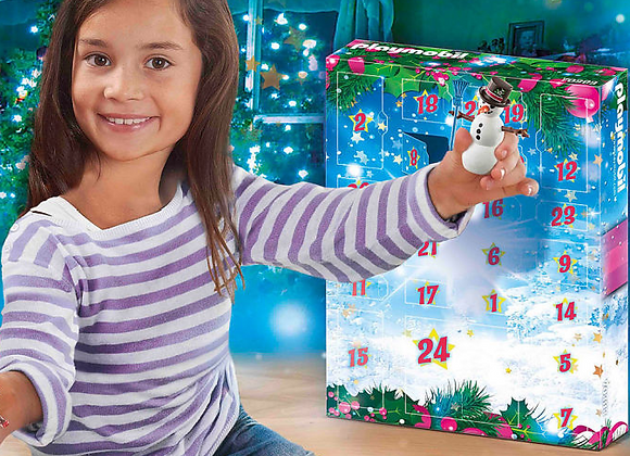 Free Playmobil Jumbo Advent Calendar