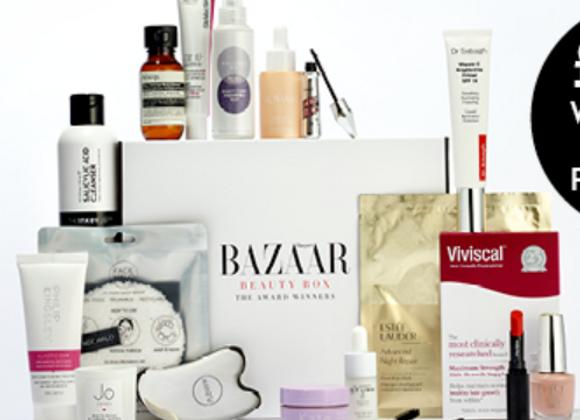 Free Harper's Bazaar Beauty Box