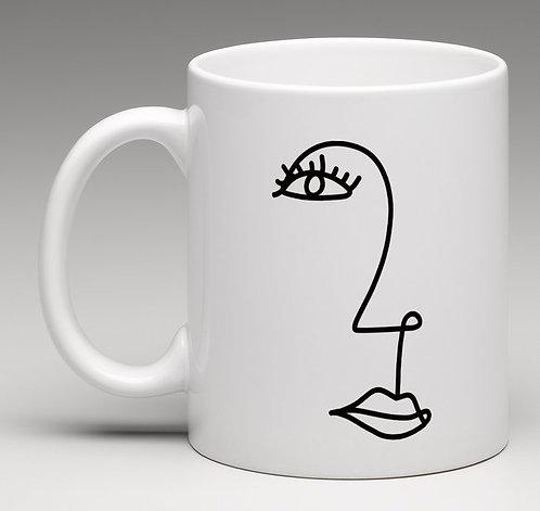 """Mug madame """"Collection LIGNE"""""""