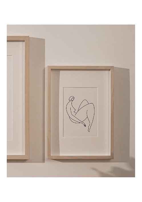 """Affiche A6 Camille Collection """"LES BELLES"""""""