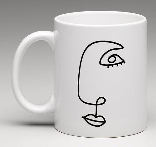 "Mug monsieur ""Collection LIGNE"""