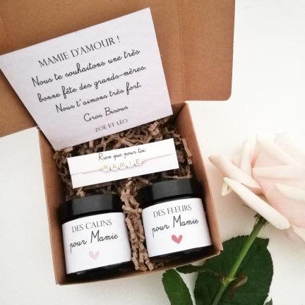 """Box cadeau """"Bonne fête Mamie"""""""