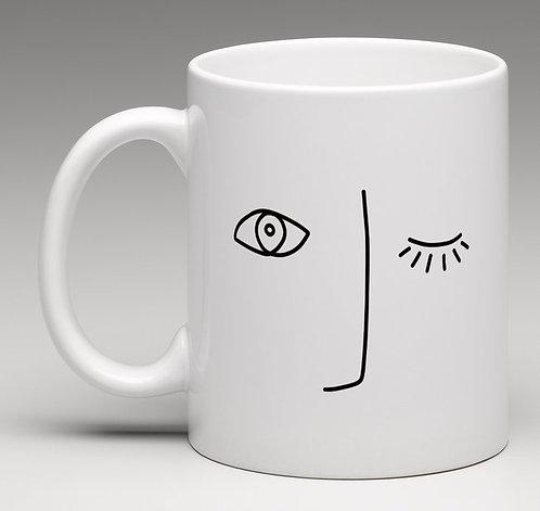 "Mug oeil ""Collection LIGNE"""