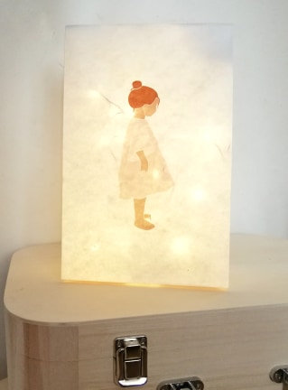 Lampe en papier Louise