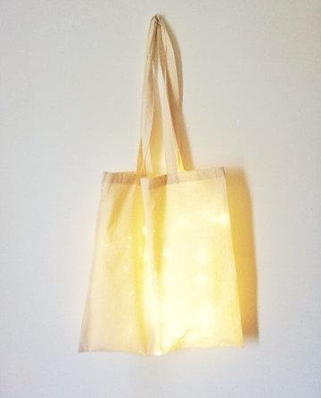 "Tote bag lumineux ""Les Joyeuses Lumières"""