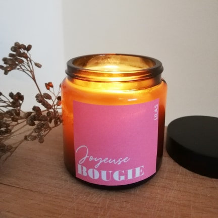 Bougie LILAS