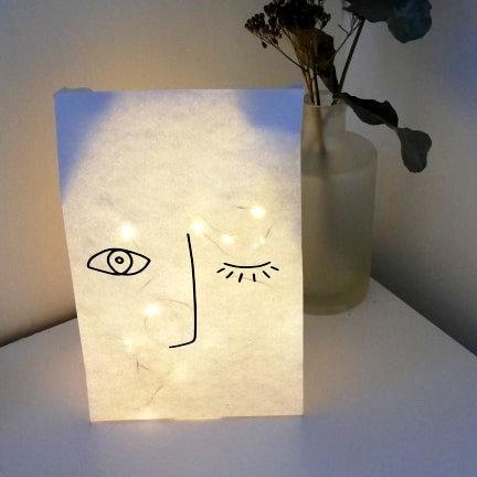 "Sac lumineux clin d'oeil ""Les Joyeuses Lumières"""