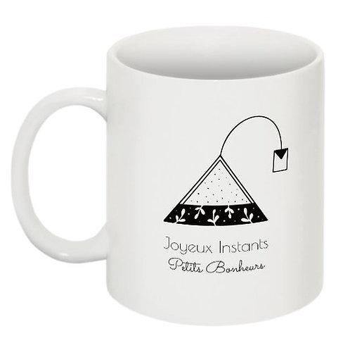 "Mug tea time ""Collection Joyeux Instants"""