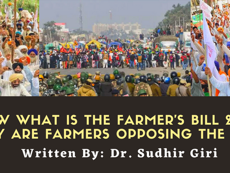 Know what is the farmer's bill 2020? Why are farmers opposing the bill?