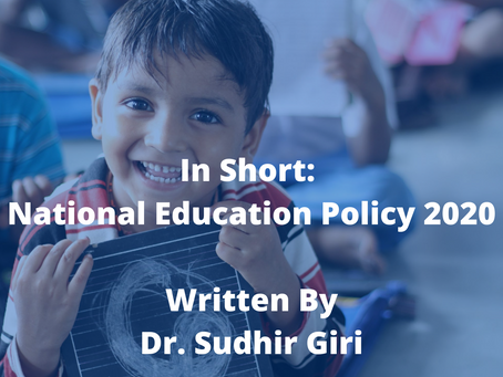 In Short - National Education Policy - 2020