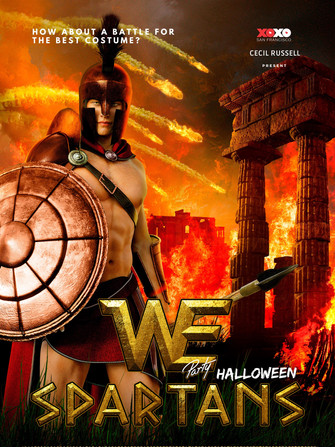 We Party Halloween - Spartans