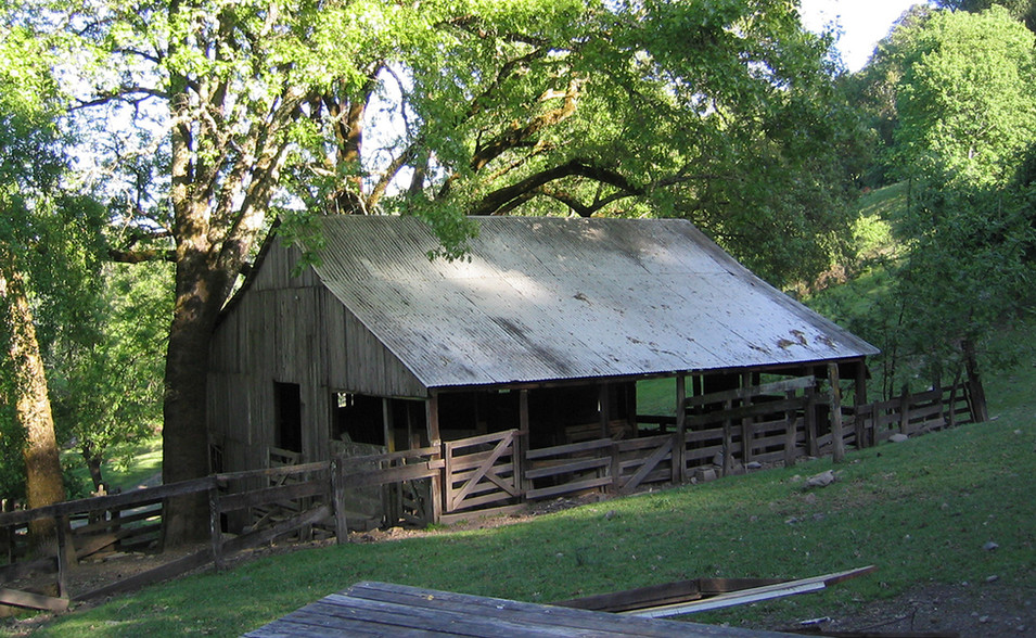 Proud old Sheep Barn