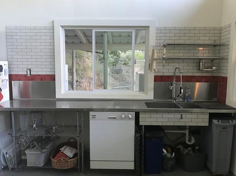 Kitchen prep and wash