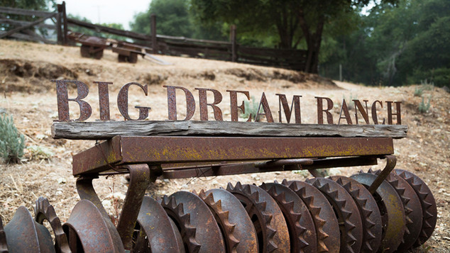 Big Dream Ranch sign