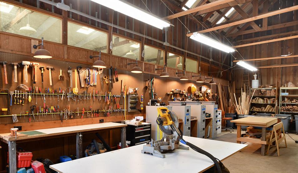 Workshop tool wall