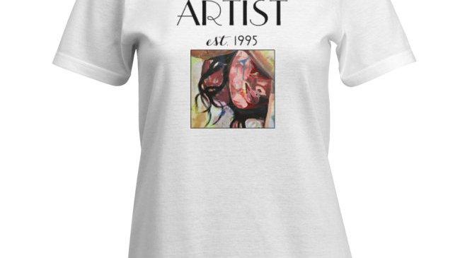 """Women's """"Artist"""" T-Shirt"""