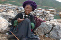 Mosuo elder