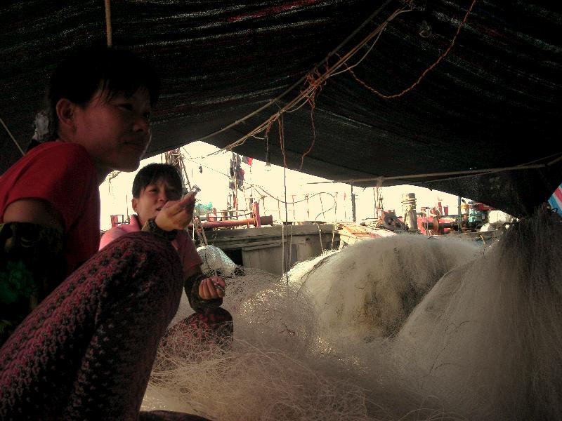 Sanya fisherwomen