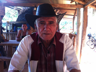 Displaced by armed conflict on the plains, a cowboy makes a new life in the mountains.