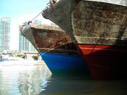 Sanya fishing boats