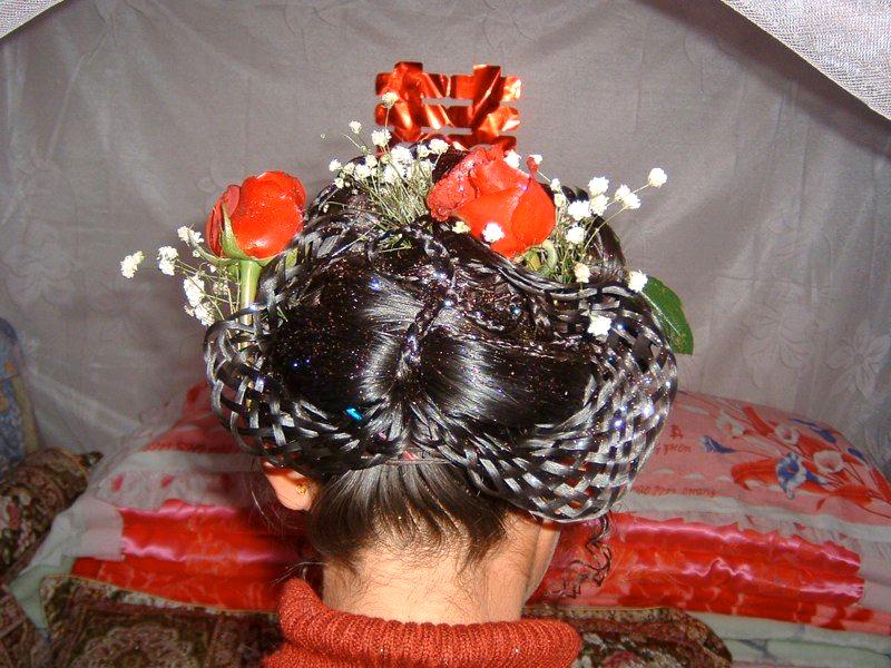 Wachan village bride