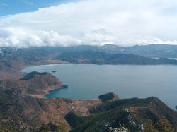 Lugu Lake view