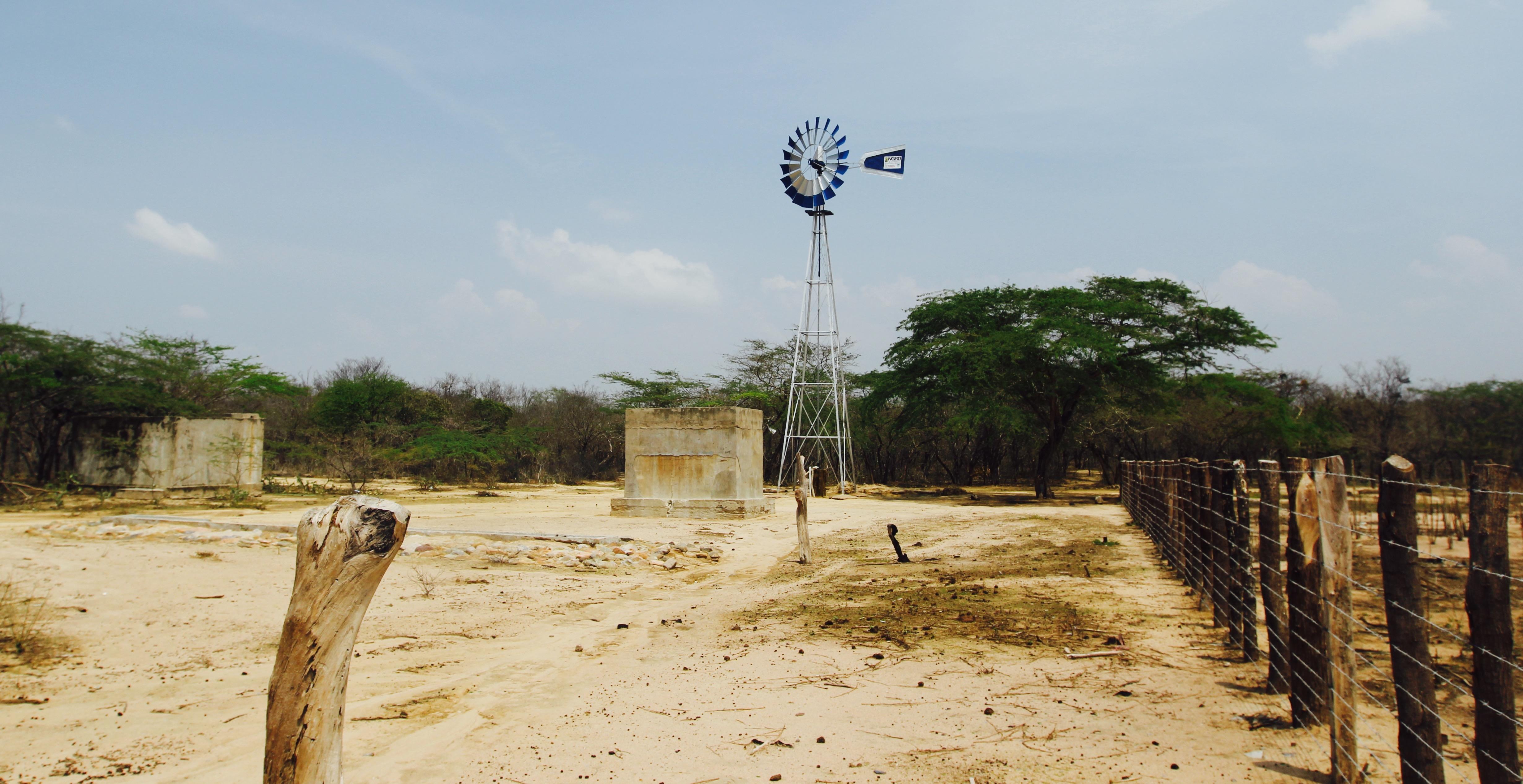 Windmill well pump