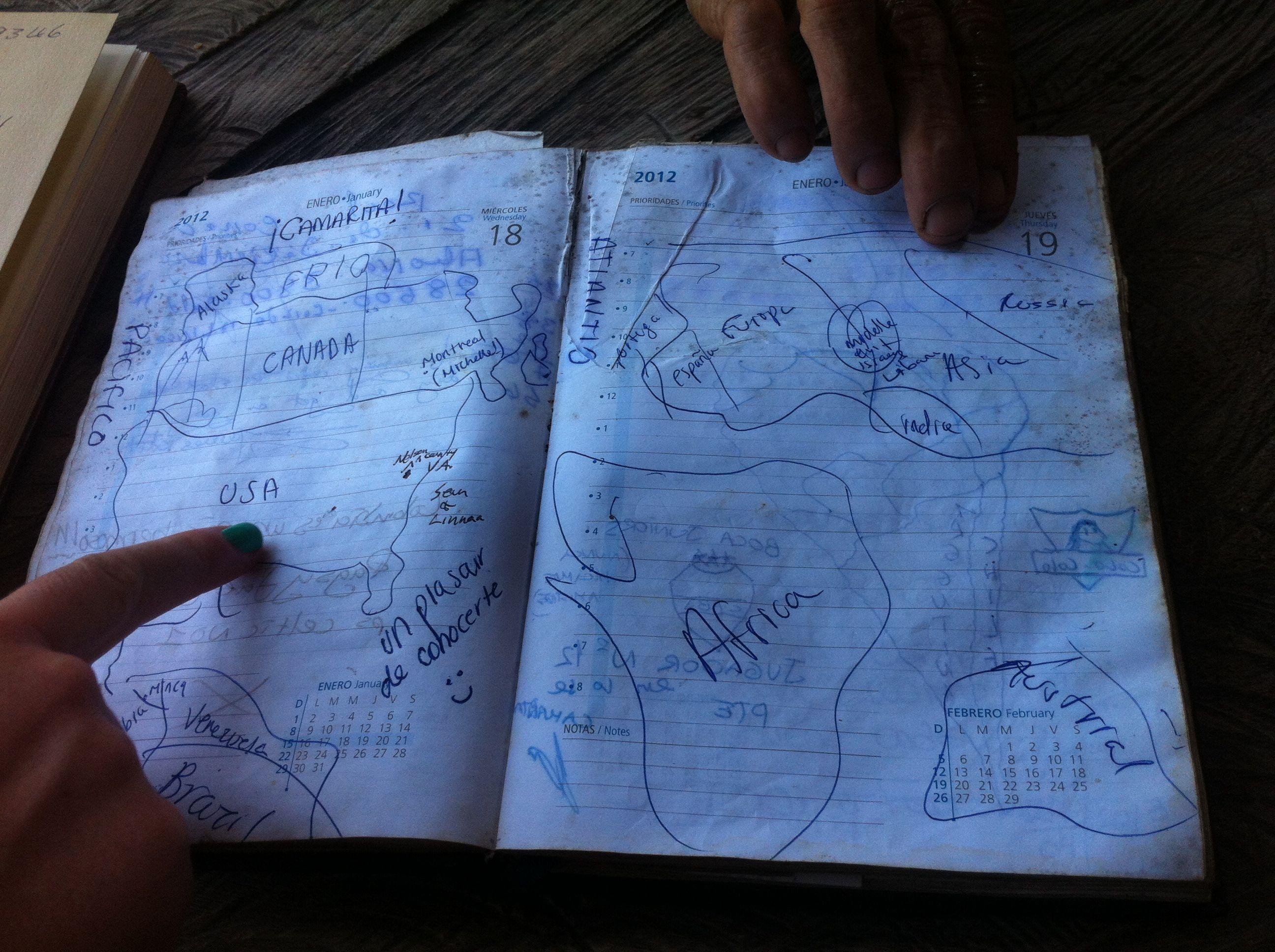 diners sketch their origins