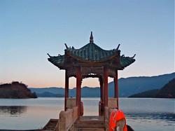 Lugu Lake pagoda