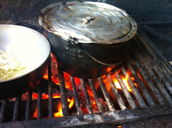 boiling plantain