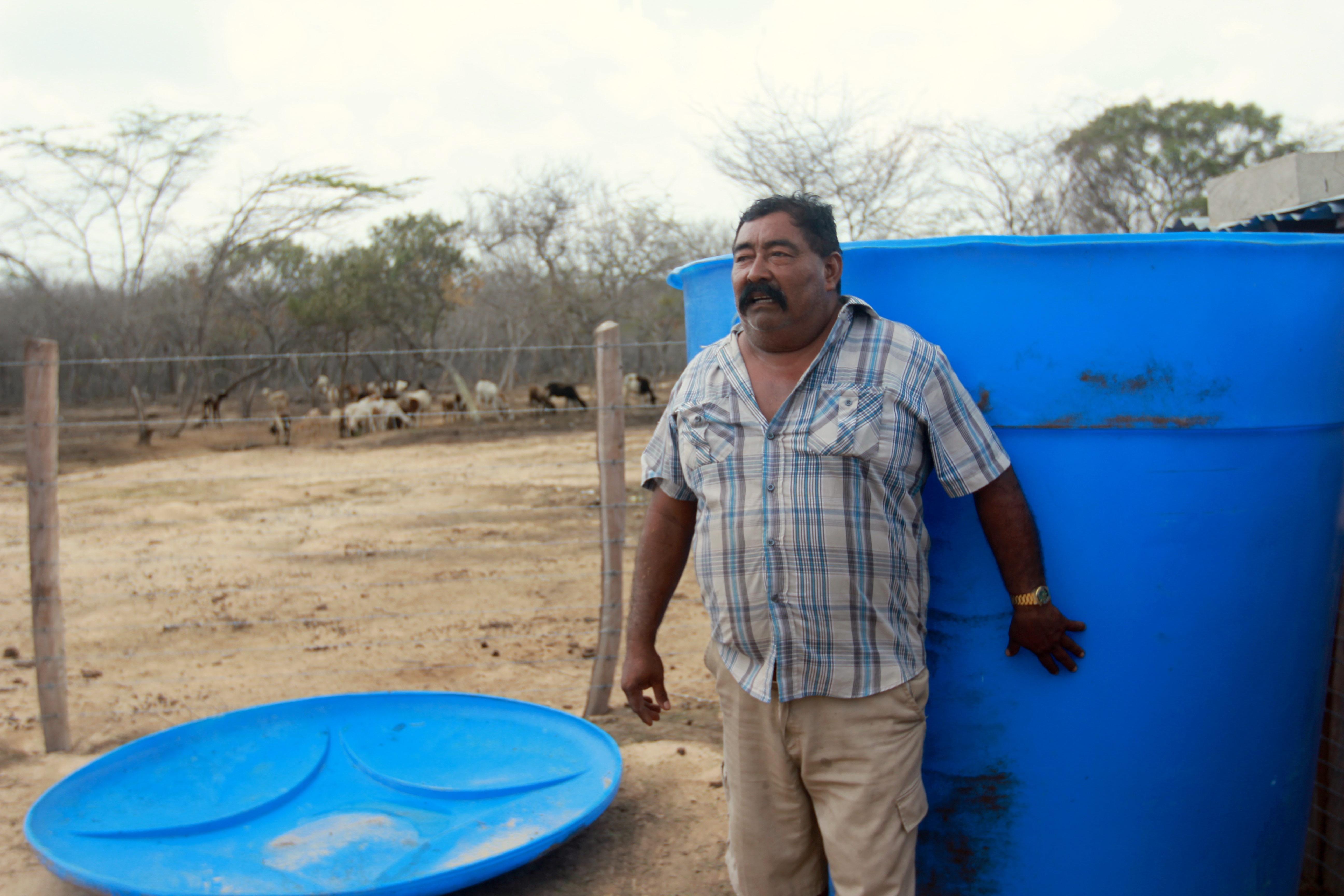 community water tank