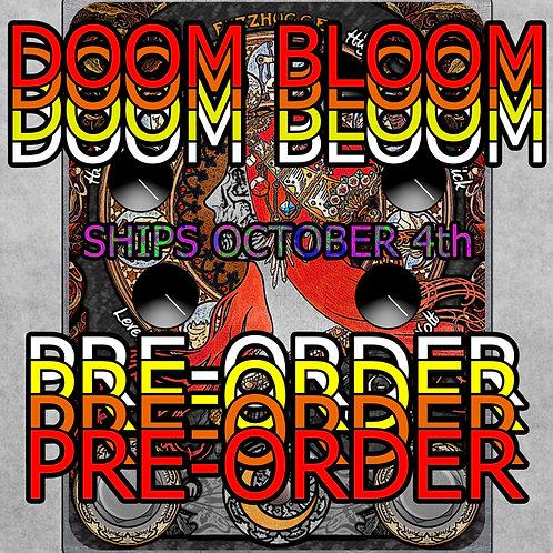 FuzzHugger Doom Bloom fuzz (graphic, no finish)
