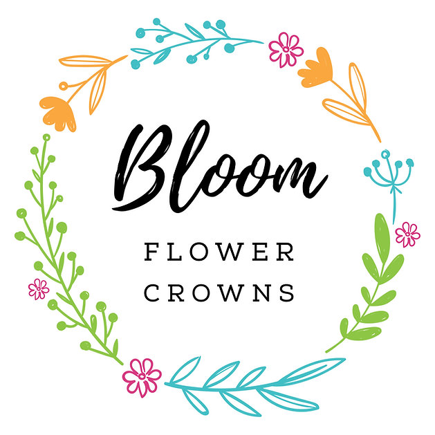 bloom flower crowns logo