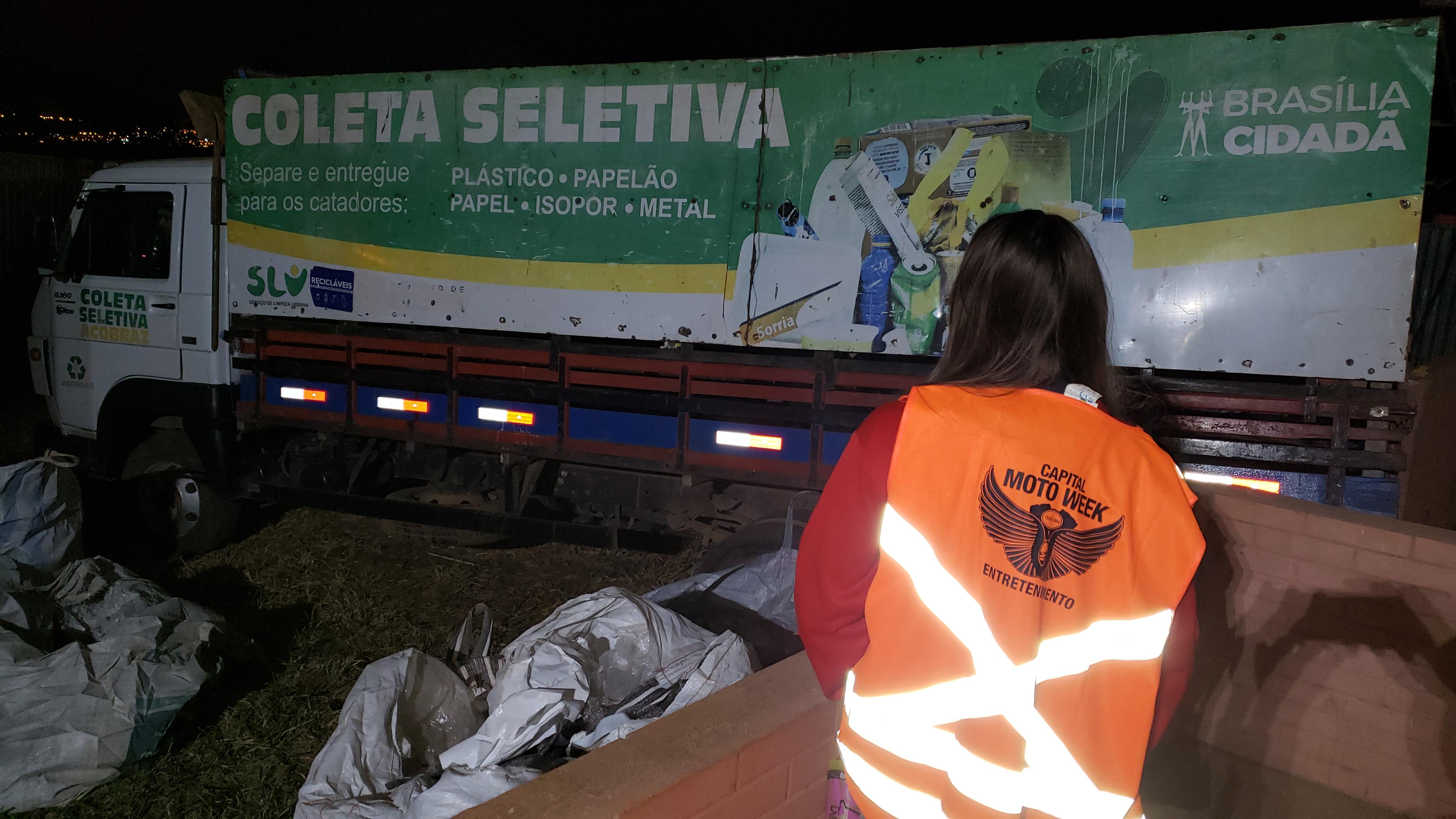 Brasília Capital Moto Week evento lixo zero