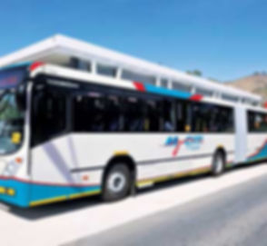 Cape Towns My Citi Bus System & Busses
