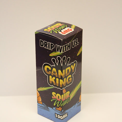 Candy King Sour Worms