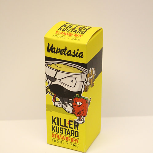 Killer Kustard Strawberry By Vapetasia