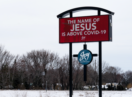 The name of Jesus is above COVID-19