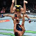 【UFC】ミシェウ・ペレイラ、ユニークはステップを見せ判定勝ち