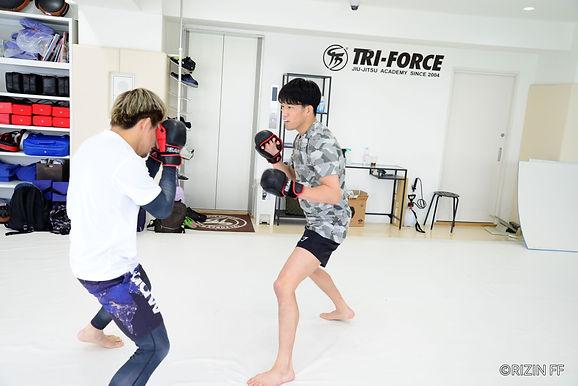 【RIZIN】朝倉海公開練習「フラットに考え、同じスタートラインに立ち、一つひとつ勝ち上がっていきたいと思う」