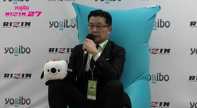 【RIZIN】榊原CEOが明かす5月東京ドーム大会の構想 フェザー級ワールドGP、ライト級王座決定戦など。