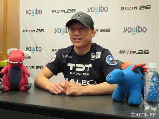 【RIZIN】堀口恭司試合前インタビュー (ほぼフルVer.)「まあでも負けないんで全然大丈夫ですハイ」
