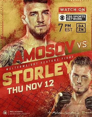 【Bellator】 ローガン・ストーレイとヤロスラフ・アモゾフが対戦