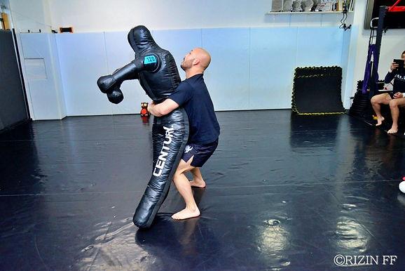 【RIZIN】倉本一真公開練習「自分はレスラーなので、ダイナミックな投げや力強い技を期待していてください」